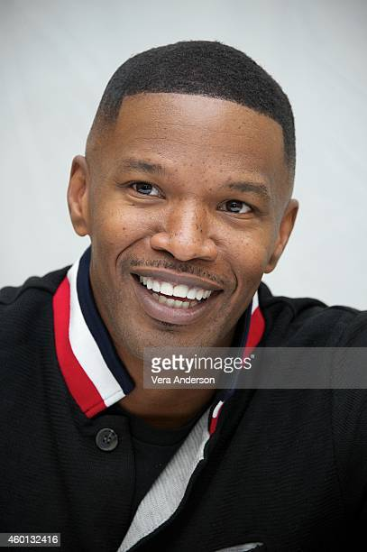 Jamie Foxx at the 'Annie' Press Conference at The London Hotel on December 3 2014 in New York City