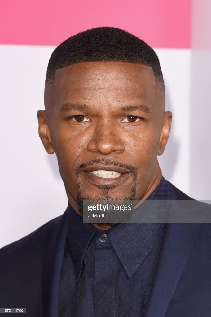 Jamie Foxx attends 2017 American Music Awards at Microsoft Theater on November 19, 2017 in Los Angeles, California.