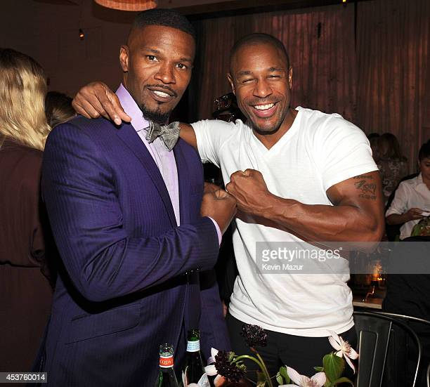 Jamie Foxx attends Apollo in the Hamptons at The Creeks on August 16 2014 in East Hampton New York