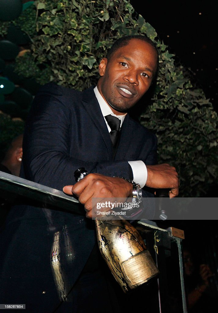 <a gi-track='captionPersonalityLinkClicked' href=/galleries/search?phrase=Jamie+Foxx&family=editorial&specificpeople=201715 ng-click='$event.stopPropagation()'>Jamie Foxx</a> attends his birthday celebration at Greenhouse on December 11, 2012 in New York City.