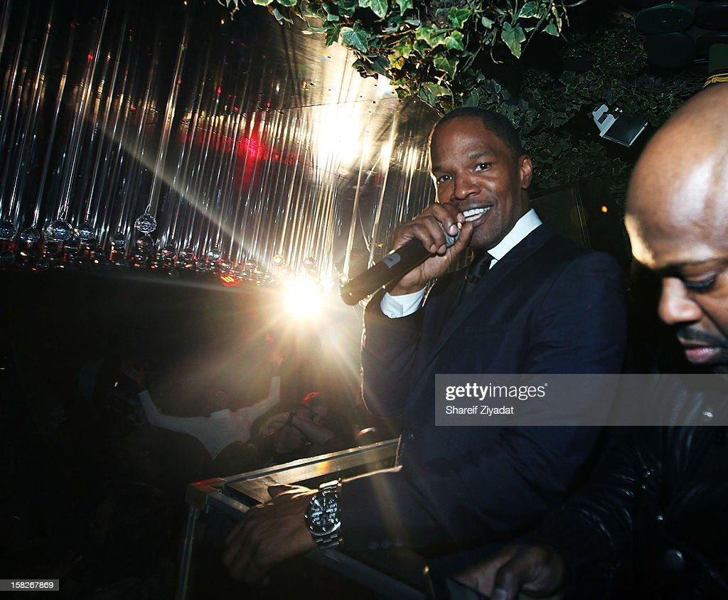 Jamie Foxx attends his birthday celebration at Greenhouse on December 11, 2012 in New York City.