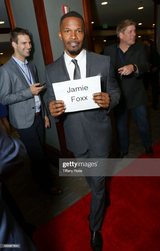 Jamie Foxx attends the 14th Annual Harold & Carole Pump Foundation Event on August 8, 2014 in Los Angeles, California.