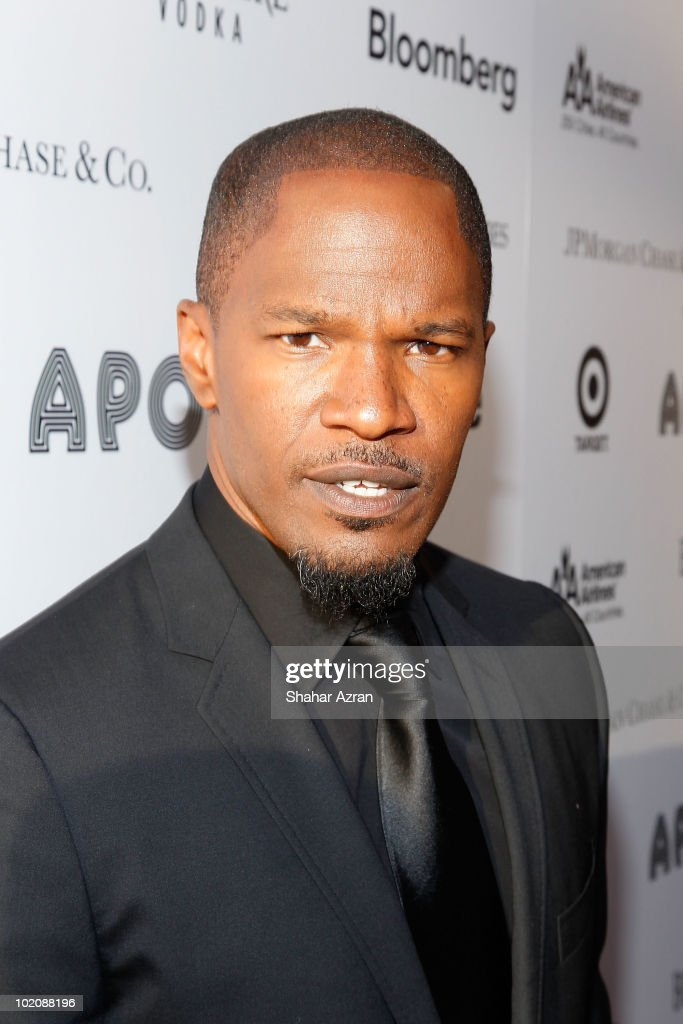 Jamie Foxx attends the 2010 Apollo Theater Spring Benefit Concert & Awards Ceremony at The Apollo Theater on June 14, 2010 in New York City.