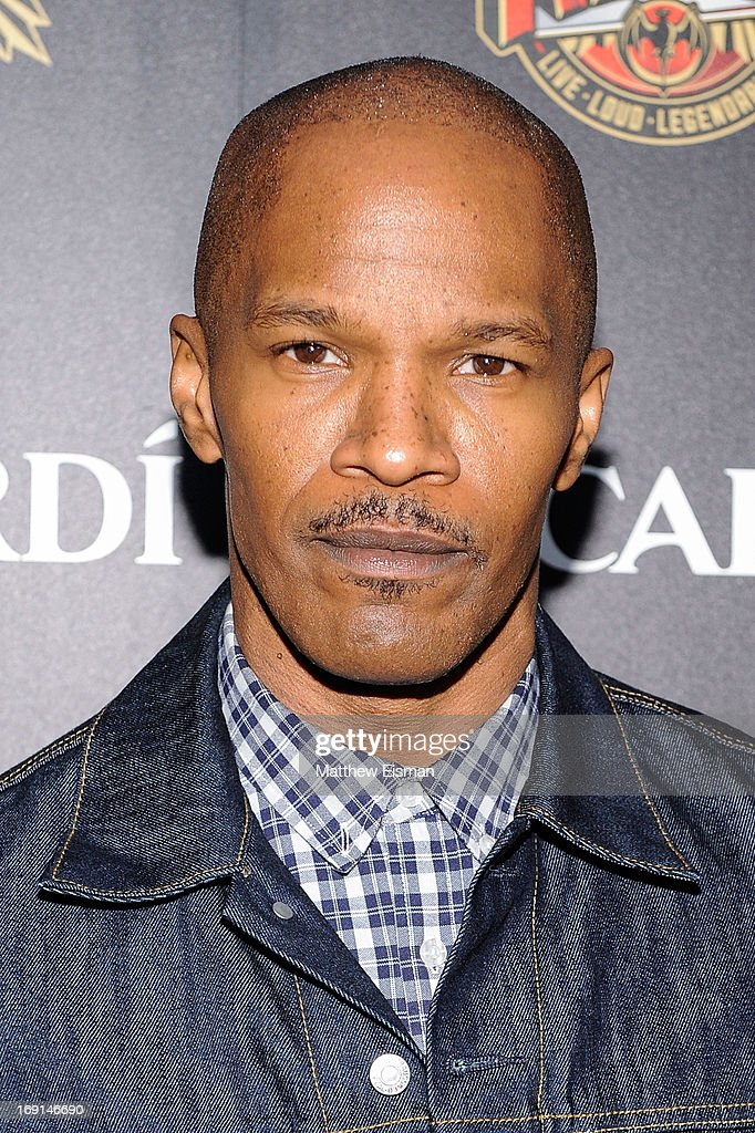 <a gi-track='captionPersonalityLinkClicked' href=/galleries/search?phrase=Jamie+Foxx&family=editorial&specificpeople=201715 ng-click='$event.stopPropagation()'>Jamie Foxx</a> attends the 2013 Bacardi Rebels event hosted by Rolling Stone at Roseland Ballroom on May 20, 2013 in New York City.