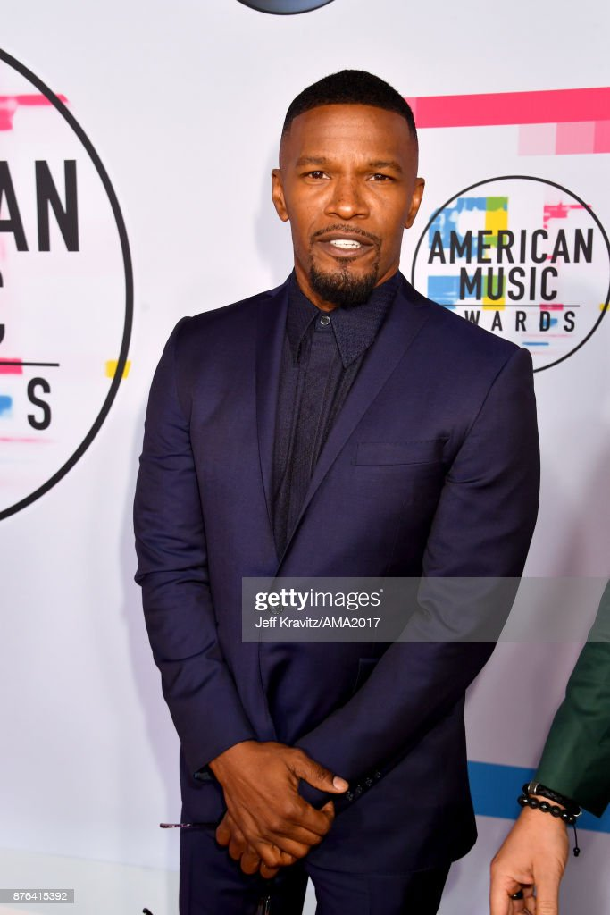 Jamie Foxx attends the 2017 American Music Awards at Microsoft Theater on November 19, 2017 in Los Angeles, California.