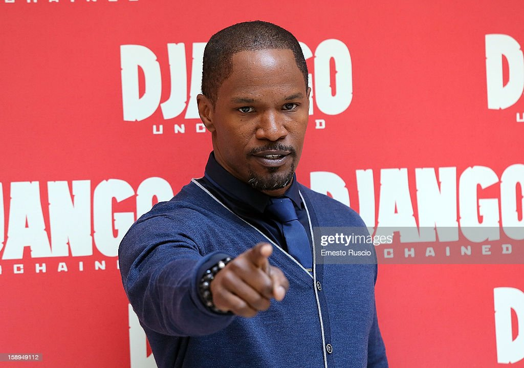 Jamie Foxx attends the 'Django Unchained' photocall at the Hassler Hotel on January 4, 2013 in Rome, Italy.