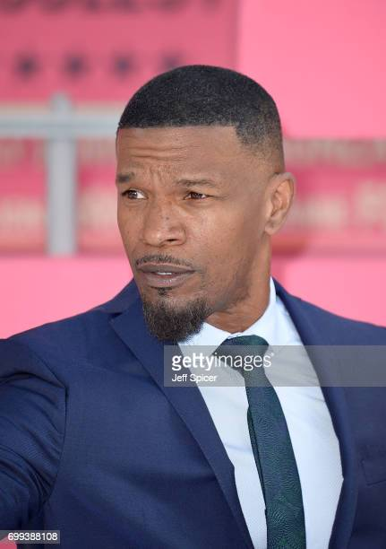 Jamie Foxx attends the European premiere of 'Baby Driver' on June 21 2017 in London United Kingdom