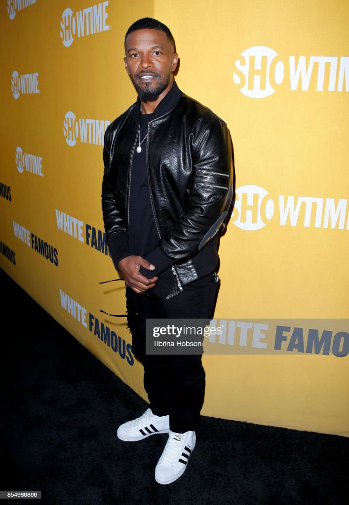 Jamie Foxx attends the premiere of Showtime's 'White Famous' at The Jeremy Hotel on September 27, 2017 in West Hollywood, California.