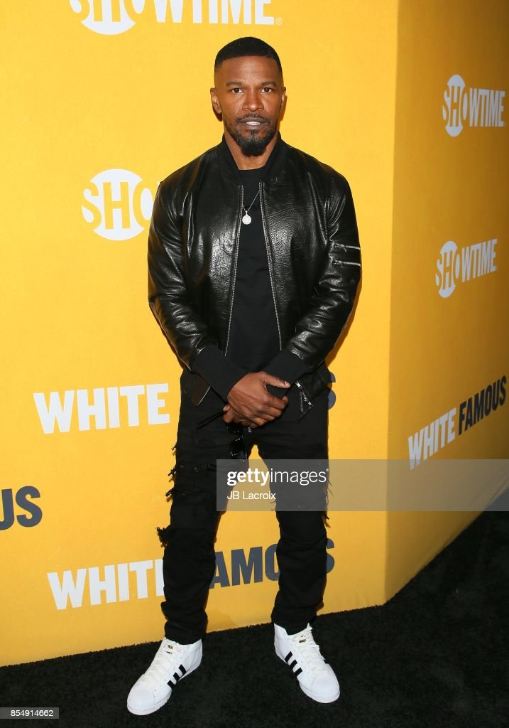 Jamie Foxx attends the premiere of Showtime's 'White Famous' on September 27, 2017 in Los Angeles, California.