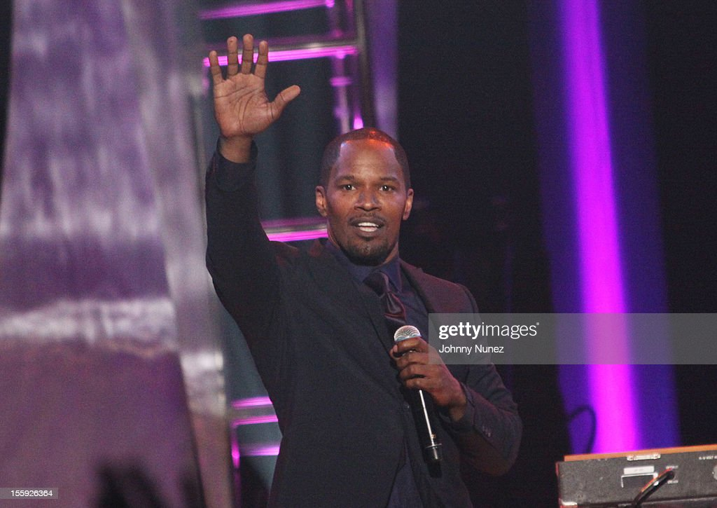 <a gi-track='captionPersonalityLinkClicked' href=/galleries/search?phrase=Jamie+Foxx&family=editorial&specificpeople=201715 ng-click='$event.stopPropagation()'>Jamie Foxx</a> attends the Soul Train Awards 2012 at Planet Hollywood Casino Resort on November 8, 2012 in Las Vegas, Nevada.