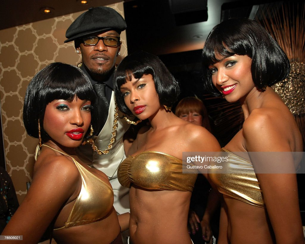 Jamie Foxx celebrates his 40th birthday hosted by Belvedere Vodka at The Florida Room at the Delano Hotel on December 15, 2007 in Miami Beach, Florida.