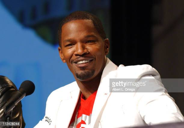 Jamie Foxx during 36th Annual ComicCon International Day Three at San Diego Convention Center in San Diego California United States