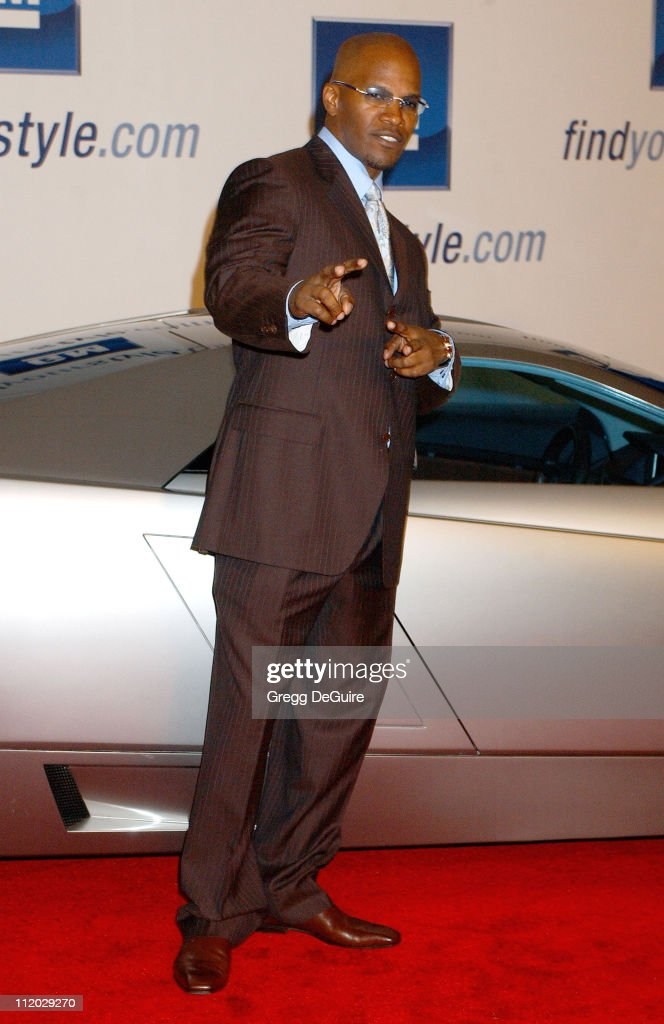 Jamie Foxx during 4th Annual 'ten' Fashion Show Presented By General Motors at Pavilion in Hollywood in Hollywood, California, United States.