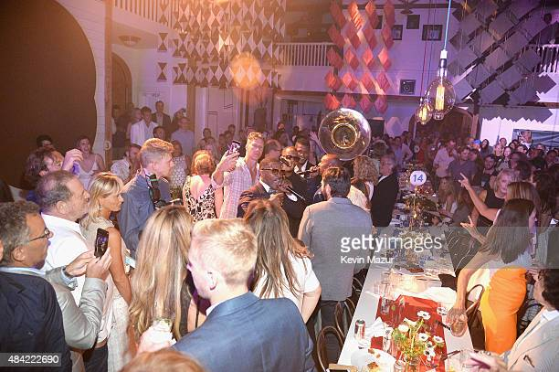 Jamie Foxx performs at Apollo in the Hamptons 2015 at The Creeks on August 15 2015 in East Hampton New York