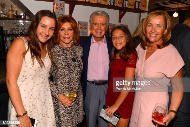 Jamie Gelman Joy Philbin Regis Philbin Misha Gelman and Laurie Gelman attend Michael Gelman Celebrates The Launch Of CLASS MOM A Novel By Laurie...