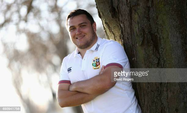 Jamie George poses during the British Irish Lions media session held on June 9 2017 in Christchurch New Zealand