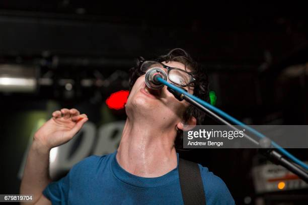 Jamie Glass of Get Inuit performs at The Key Club during Live At Leeds on April 29 2017 in Leeds England Live at Leeds is a music festival that takes...