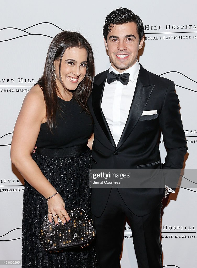 Jamie Gleischer and Michael Gleischer attend the 2013 Silver Hospital gala at Cipriani 42nd Street on November 20, 2013 in New York City.