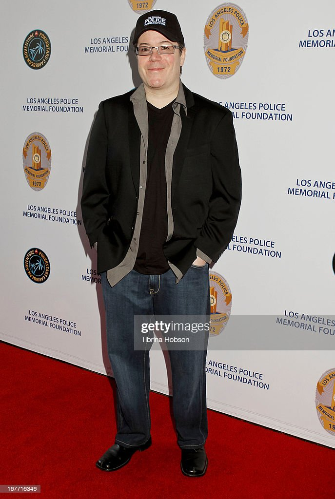 <a gi-track='captionPersonalityLinkClicked' href=/galleries/search?phrase=Jamie+Gold&family=editorial&specificpeople=1390217 ng-click='$event.stopPropagation()'>Jamie Gold</a> attends the Los Angeles Police Memorial Foundation's celebrity poker tournament at Saban Theatre on April 27, 2013 in Beverly Hills, California.