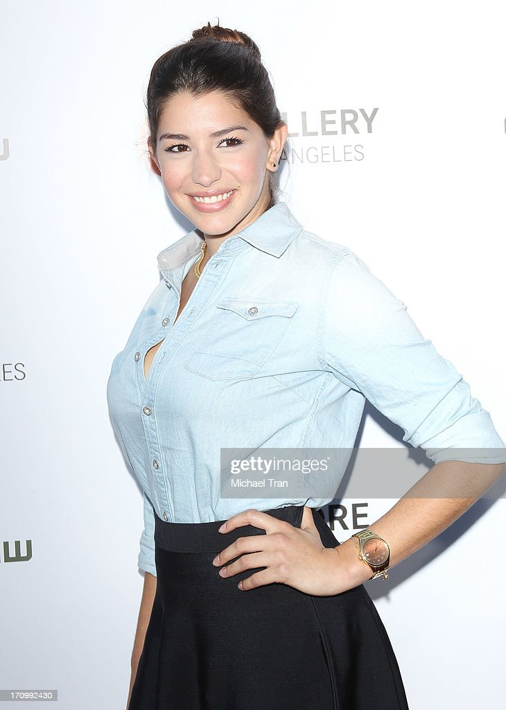 Jamie Gray Hyder arrives at the grand opening of the Leica Store Los Angeles held on June 20, 2013 in Los Angeles, California.