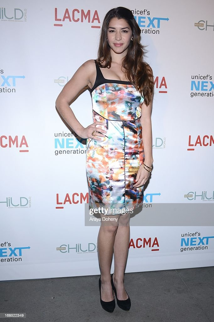 Jamie Gray Hyder attends the UNICEF NextGen Los Angeles launch at LACMA on May 9, 2013 in Los Angeles, California.