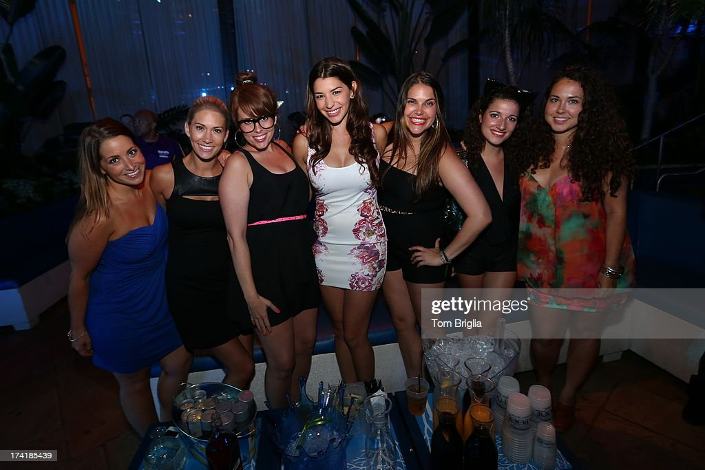 Jamie gray hyder visits the pool after dark getty images for Pool show new jersey
