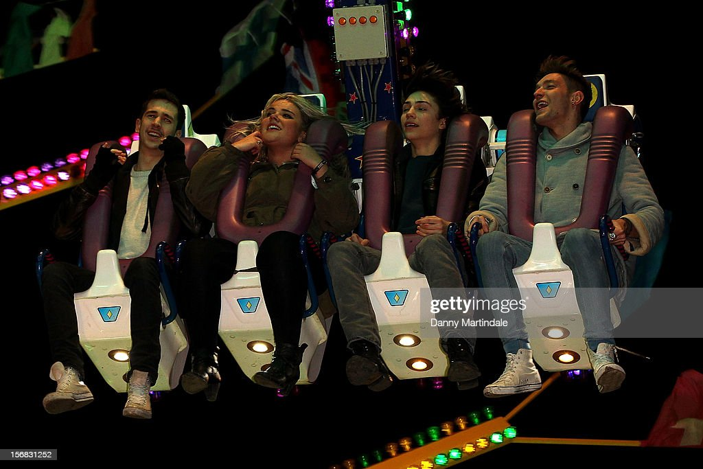 Jamie Hamblett (JJ) from Union J attends the Winter Wonderland launch party at Hyde Park on November 22, 2012 in London, England.