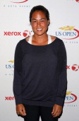 Jamie Hampton of the United States smiles for a photo on Day One of the 2013 US Open at the 2013 US Open at the USTA Billie Jean King National Tennis...