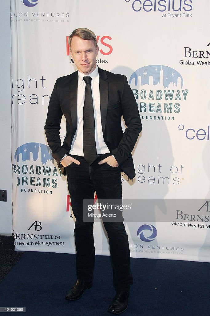 Jamie Harris attends the 2013 Broadway Dreams Foundation's 'Night Of Dreams' gala at Celsius on December 9, 2013 in New York City.