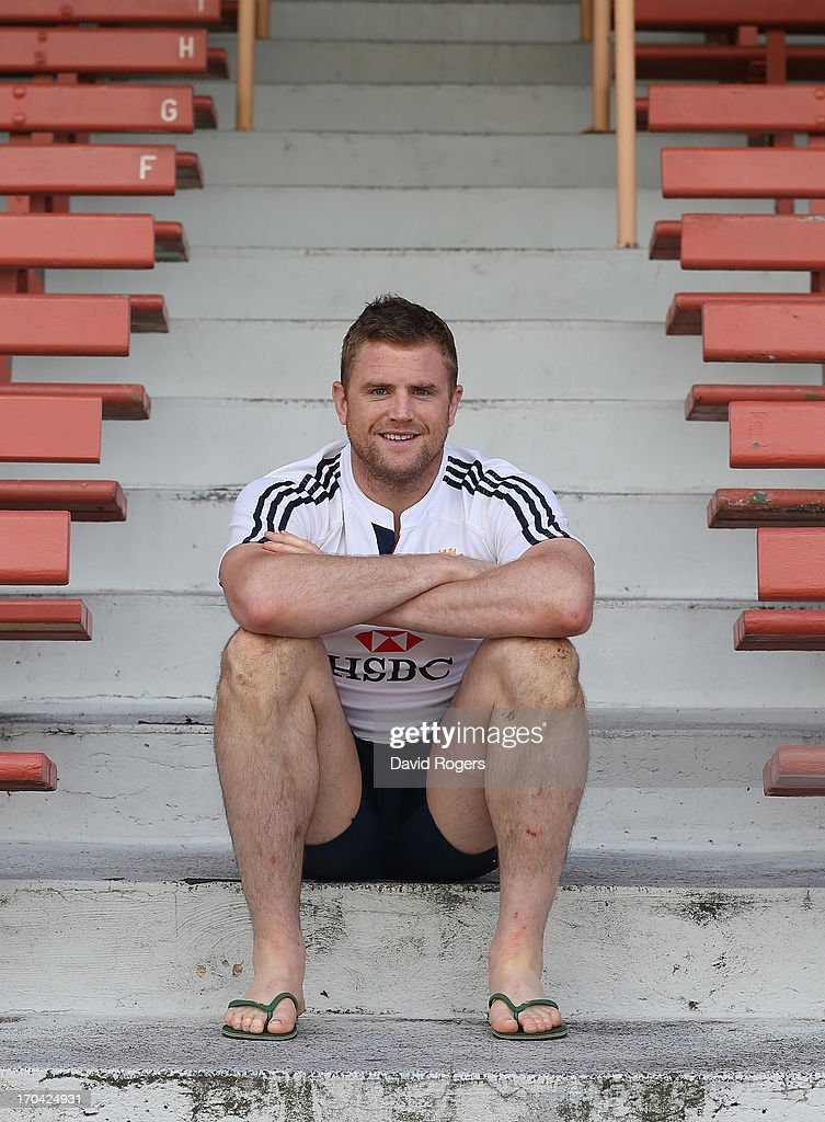 Jamie Heaslip of the Lions poses after the British and Irish Lions training session at North Sydney Oval on June 13, 2013 in Sydney, Australia.
