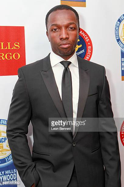 Jamie Hector arrived at the 24th Annual NAACP Theatre Awards at Saban Theatre on November 17 2014 in Beverly Hills California