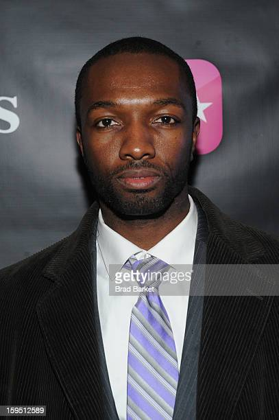 Jamie Hector attends BET Networks New York Premiere Of 'Real Husbands of Hollywood' And 'Second Generation Wayans' After Party at 40 / 40 Club on...