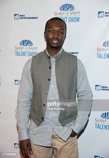 Jamie Hector attends the Garden Of Dreams Foundation Children Talent Show at Radio City Music Hall on June 18 2015 in New York City