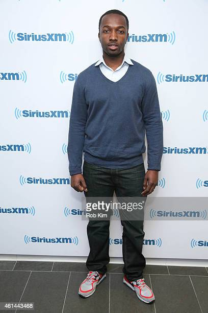 Jamie Hector visits at SiriusXM Studios on January 12 2015 in New York City