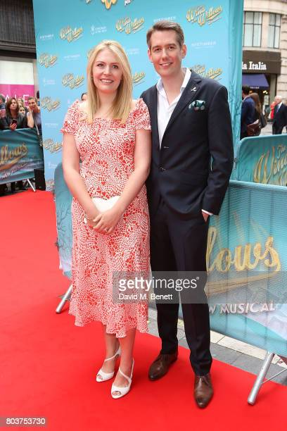 Jamie Hendry attends the press night performance of 'The Wind In The Willows' at the London Palladium on June 29 2017 in London England