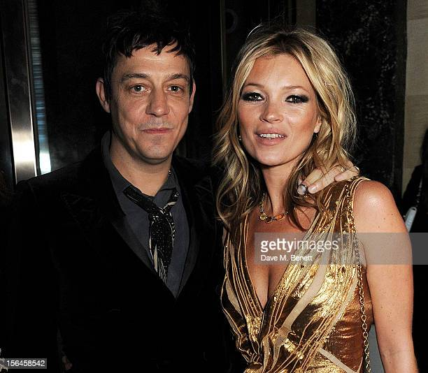 Jamie Hince and Kate Moss attend an after party celebrating the launch of 'Kate The Kate Moss Book' hosted by Marc Jacobs published by Rizzoli New...
