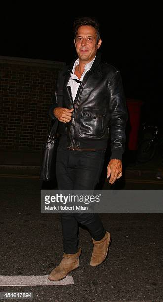 Jamie Hince attending the Trillion Fund and Finding Infinity OFFtheGRID solar party on September 4 2014 in London England