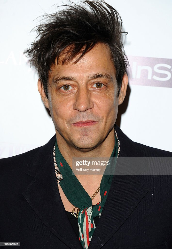 <a gi-track='captionPersonalityLinkClicked' href=/galleries/search?phrase=Jamie+Hince&family=editorial&specificpeople=220566 ng-click='$event.stopPropagation()'>Jamie Hince</a> attends InStyle magazine's The Best of British Talent pre-BAFTA party at Dartmouth House on February 4, 2014 in London, England.