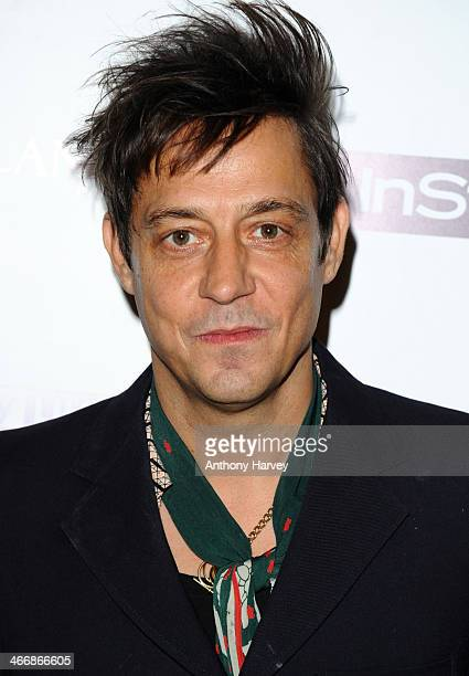 Jamie Hince attends InStyle magazine's The Best of British Talent preBAFTA party at Dartmouth House on February 4 2014 in London England