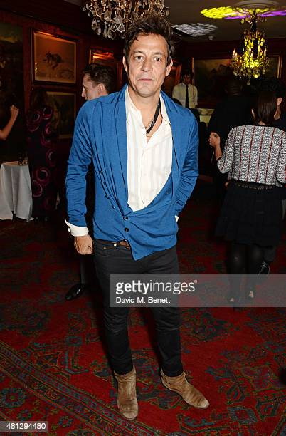 Jamie Hince attends the Esquire Jimmy Choo party the official launch party of London Collections Men AW15 at Marks Club on January 10 2015 in London...