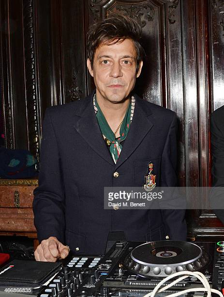 Jamie Hince attends the InStyle Best of British Talent party in celebration of BAFTA in association with Lancome and Sky Living at Dartmouth House on...
