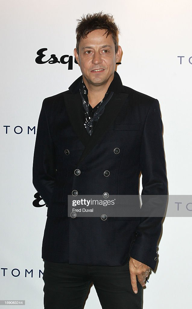 Jamie Hince attends the Tommy Hilfiger & Esquire event at the London Collections: MEN AW13 at on January 7, 2013 in London, England.