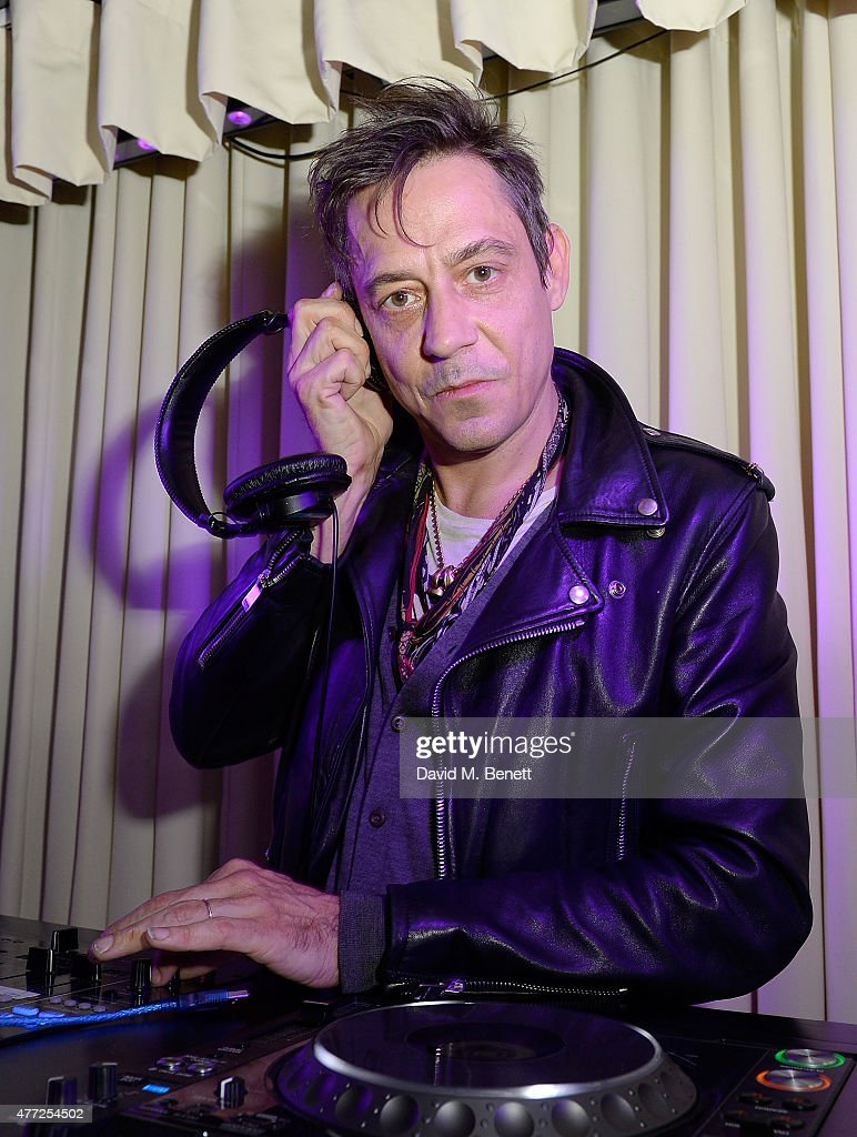 Jamie Hince DJs at the ShortList and House of Fraser London Collections Men closing night party 2015 at Quaglino's on June 15 2015 in London England