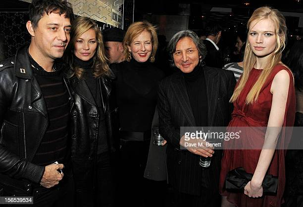 Jamie Hince Kate Moss Julia PeytonJones Leon Max and Katia Elizarova attend an after party hosted by Leon Max to celebrate the launch of his first...