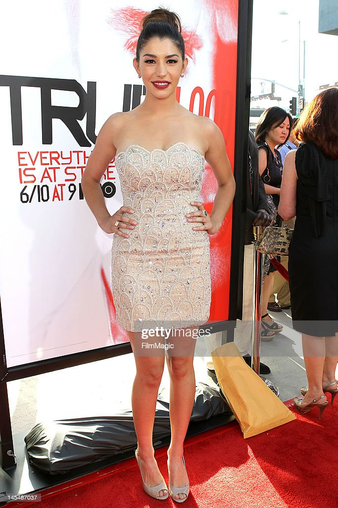 Jamie Hyder attends the HBO's Season 5 Premiere Of 'True Blood' at ArcLight Cinemas Cinerama Dome on May 30, 2012 in Hollywood, California.