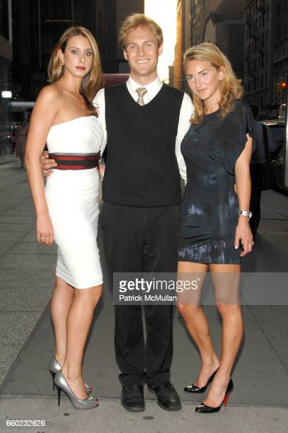Jamie Jo Harris James Francis Ginty and Sarah Bradford attend World Premiere of HOMECOMING at MGM Screening Room on July 16 2009 in New York City