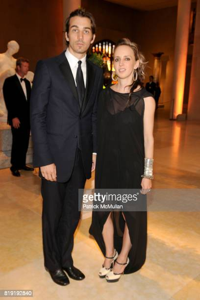 Jamie Johnson and Hope Atherton attend HAUT BRION 75th Anniversary at The Metropolitan Museum of Art on July 12 2010 in New York City
