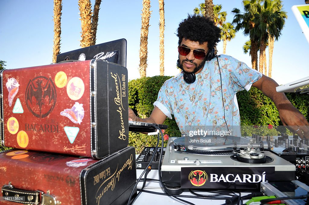 Jamie Jones attends the Soho House Pop Up with Bacardi during Coachella 2013 at Merv Griffin Estate on April 20, 2013 in La Quinta, California.