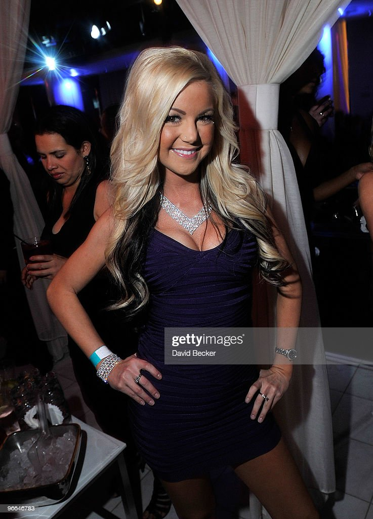 Jamie Jungers hosts an evening at the Pure Nightclub at Caesars Palace early on February 13, 2010 in Las Vegas, Nevada.