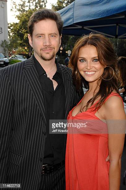 Jamie Kennedy and Heidi Mueller during First Annual Spike TV's Guys Choice Red Carpet at Radford Studios in Los Angeles California United States
